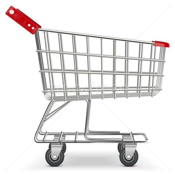 Vector Supermarket Cart Stock photo © dashadima