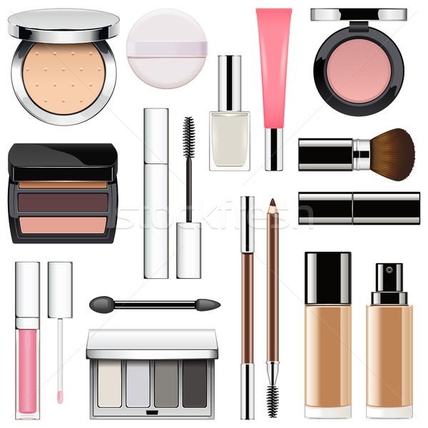 Vector Makeup Icons Set 2 Stock photo © dashadima