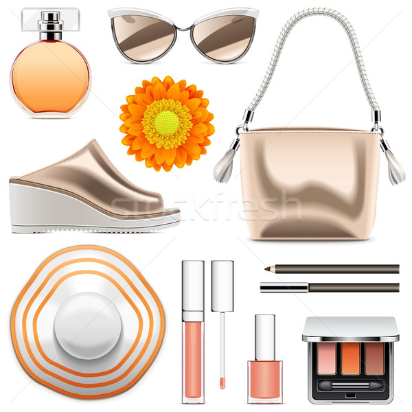 Vector Fashion Accessories Set 6 Stock photo © dashadima