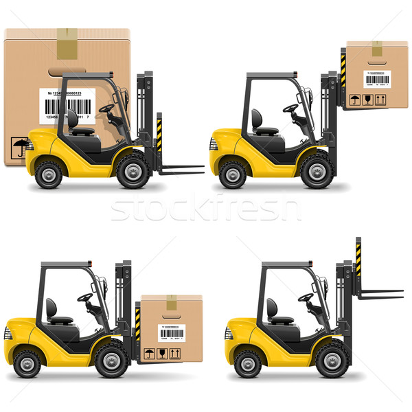 Vector Shipment Icons Set 20 Stock photo © dashadima