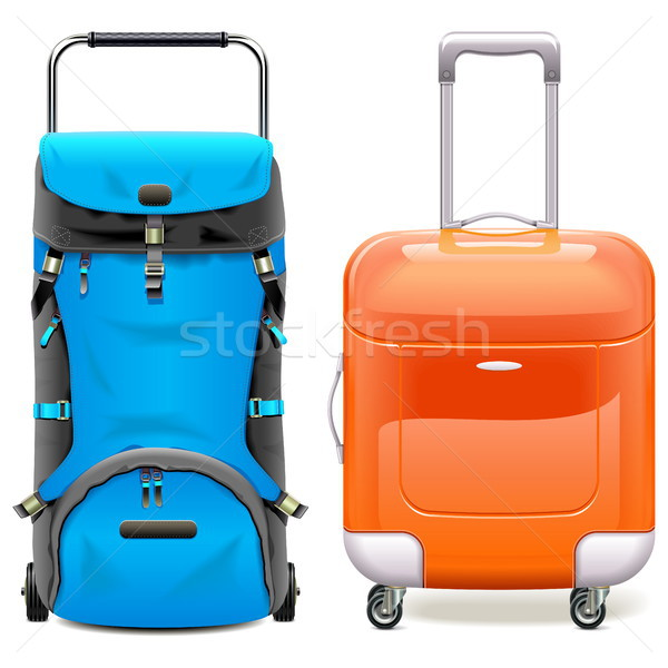 Vector Travel Bags Stock photo © dashadima