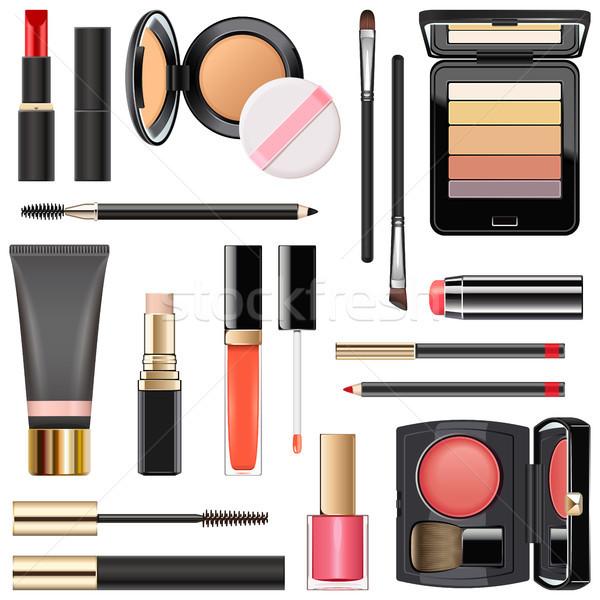Vector Professional Makeup Cosmetics Stock photo © dashadima