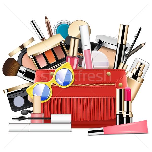 Vector Cosmetic Bag Stock photo © dashadima
