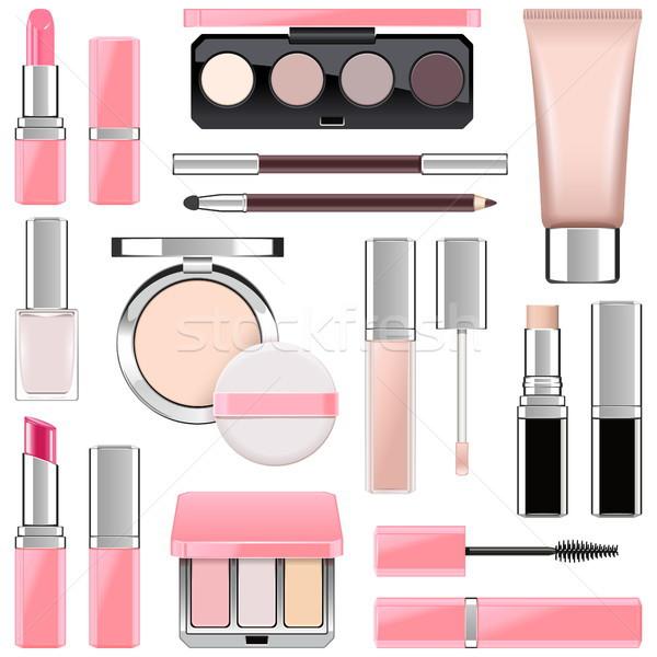 Vector Makeup Icons Set 4 Stock photo © dashadima