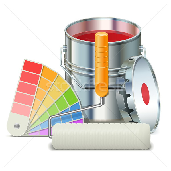 Stock photo: Vector Painting Concept