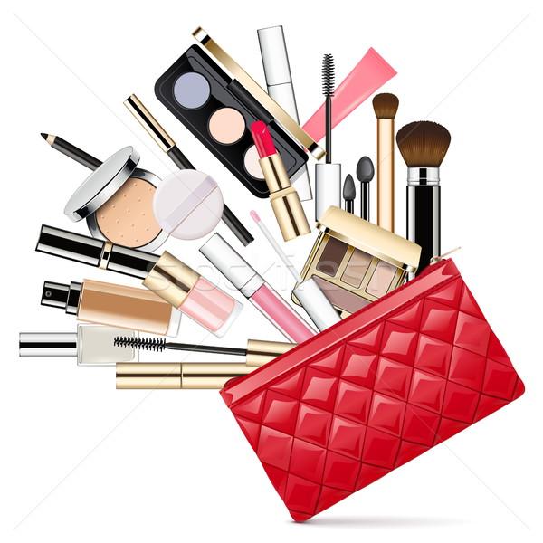 Vector Makeup Bag Stock photo © dashadima