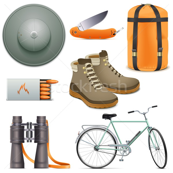 Vector Scouting Icons Set 2 Stock photo © dashadima
