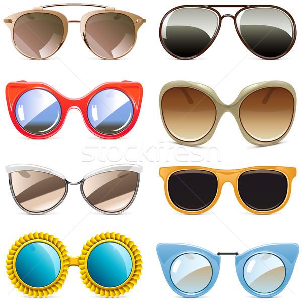 Vector Sun Glasses Stock photo © dashadima