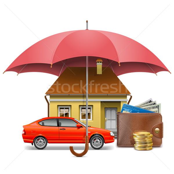 Vector Insurance Concept Stock photo © dashadima