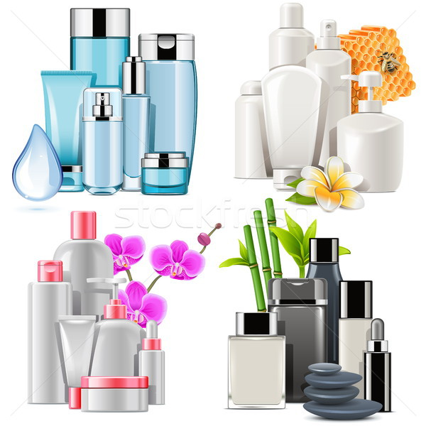 Vector Cosmetic Products Stock photo © dashadima