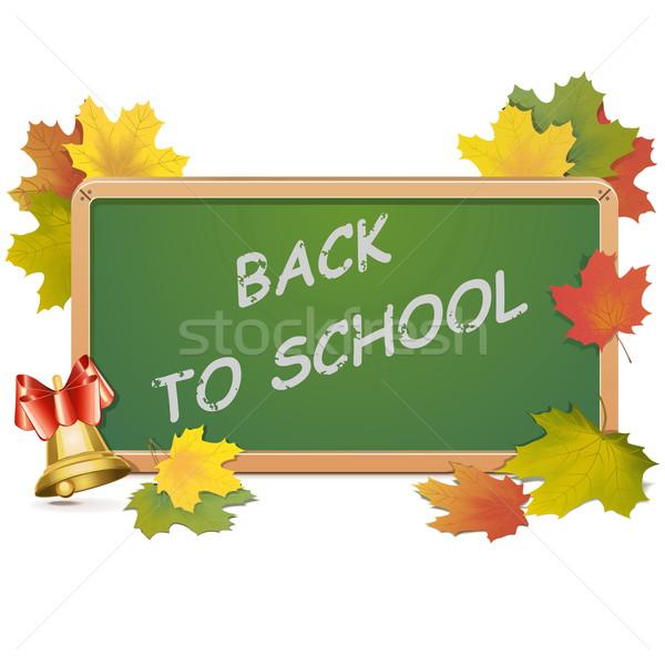 Vector School Blackboard Stock photo © dashadima