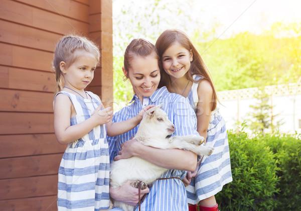 Feliz mãe bebê família Foto stock © dashapetrenko