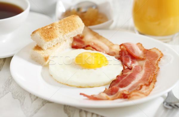 Tasty breakfast in the morning  Stock photo © dashapetrenko