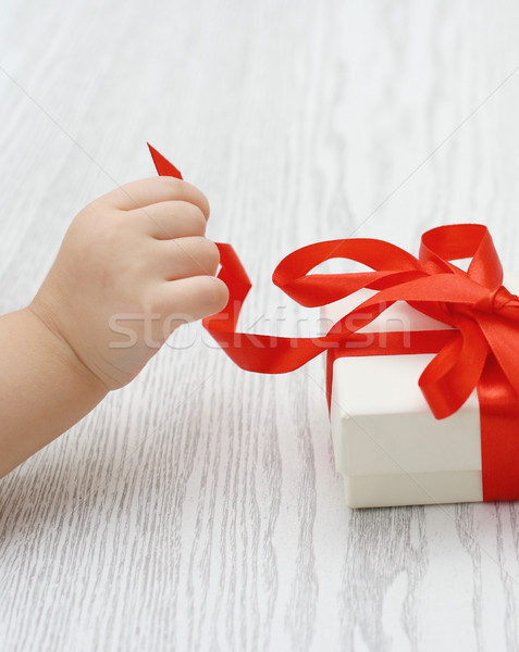 Present Stock photo © dashapetrenko
