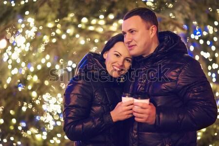 çift bengal ışık bakıyor kamera dışında Stok fotoğraf © dashapetrenko