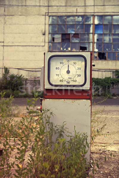 Damaged gas station  Stock photo © dashapetrenko