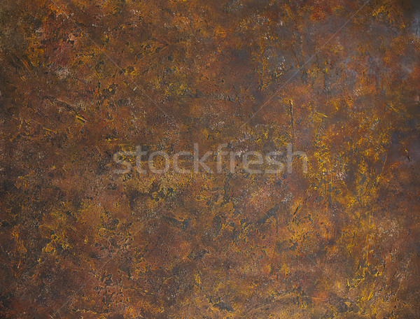 Brown rusty metal abstract background Stock photo © dashapetrenko