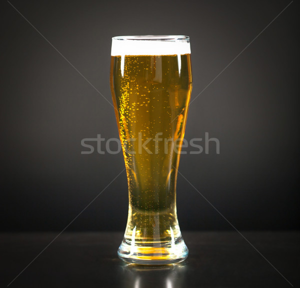 Still life with a draft beer by the glass  Stock photo © dashapetrenko