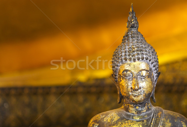 Close up of Buddha statue Stock photo © dashapetrenko