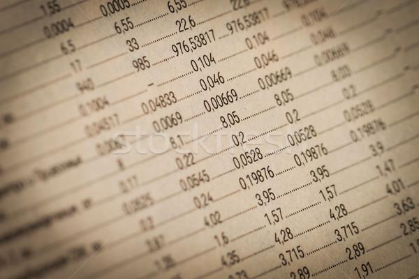 Business financial report Stock photo © dashapetrenko