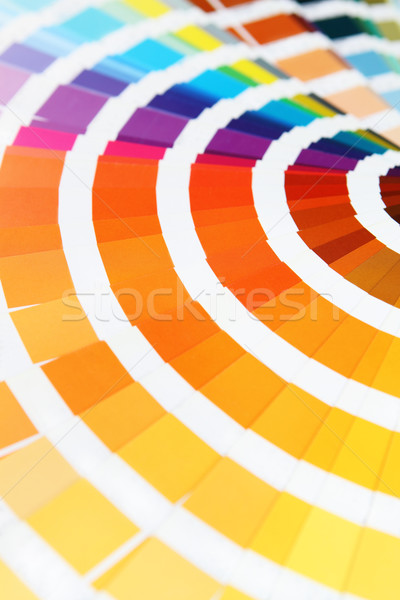Pantone sample colors catalogue Stock photo © dashapetrenko