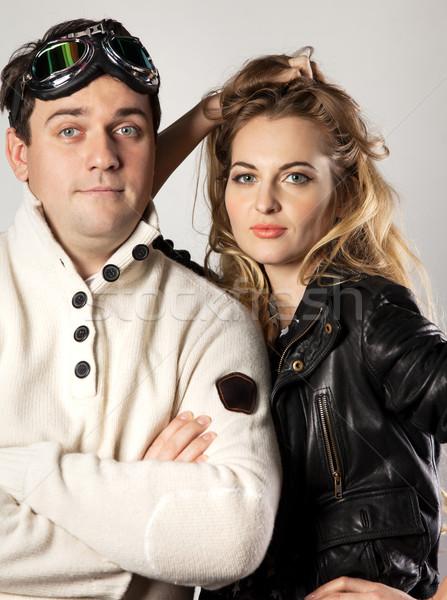 Pitot and his girlfriend Stock photo © dashapetrenko