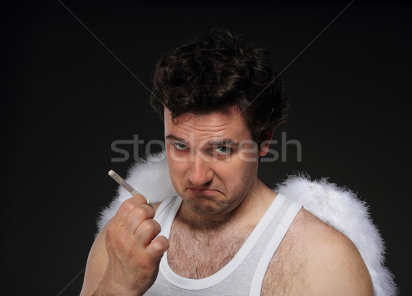 Let's smock Stock photo © dashapetrenko