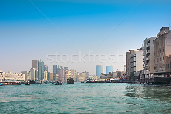 View at Dubai Creek, Dubai, United Arab Emirates  Stock photo © dashapetrenko