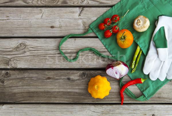 Fresh farmers market fruits and vegetables  Stock photo © dashapetrenko