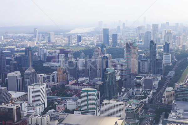 Bangkok cityscape. View of the city from the tallest building in Stock photo © dashapetrenko