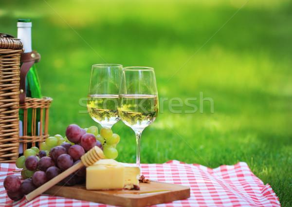 Summer picnic Stock photo © dashapetrenko