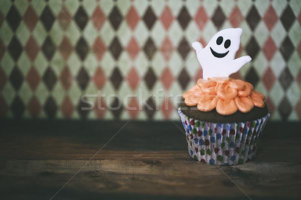 Halloween projeto escuro caseiro festa Foto stock © dashapetrenko