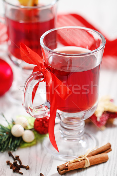 Orange and cranberry punch  Stock photo © dashapetrenko