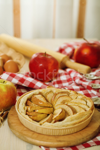 Freshly baked apple pie  Stock photo © dashapetrenko