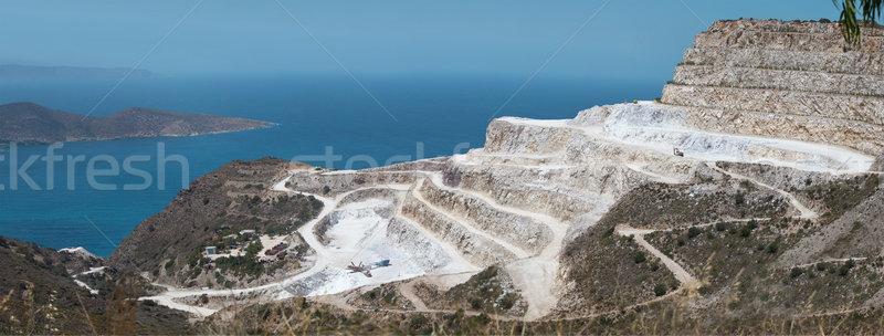Plaster of Paris Quarry, Crete Stock photo © dashapetrenko
