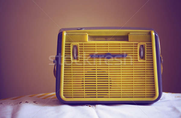 Antique radio  Stock photo © dashapetrenko