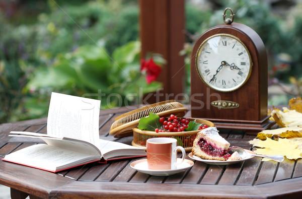 Time for tea Stock photo © dashapetrenko
