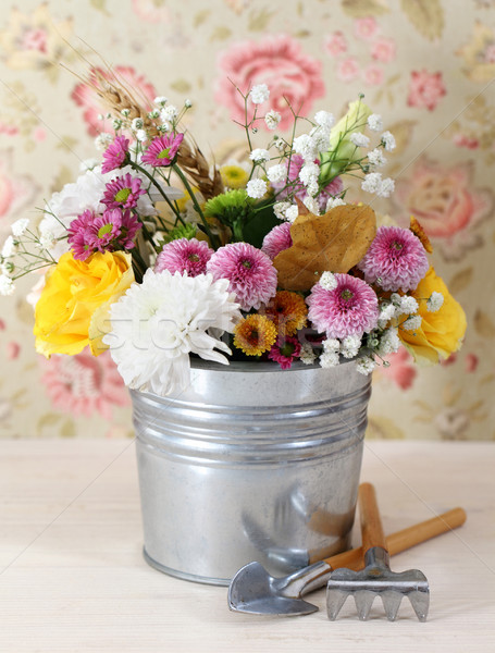 Bouquet of autumn flowers  Stock photo © dashapetrenko