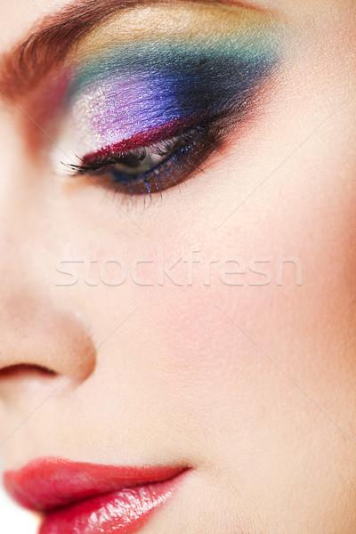 портрет красивой молодые модель Сток-фото © dashapetrenko