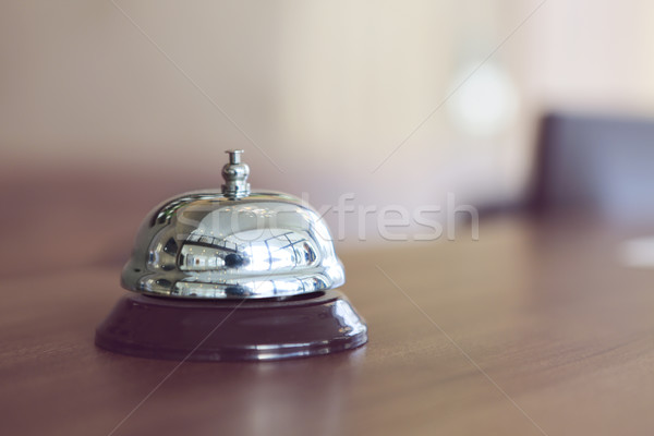 Hotel bell in retro style  Stock photo © dashapetrenko