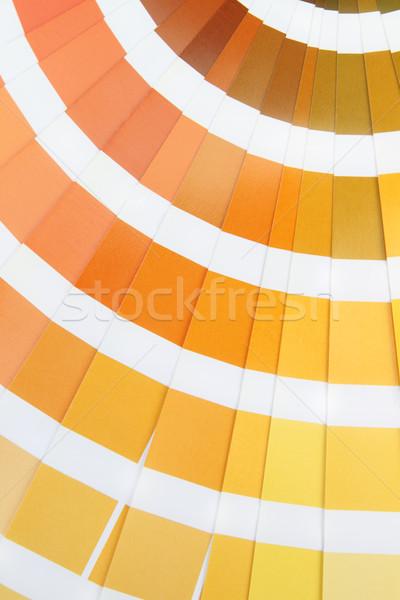 Pantone. Yellow Stock photo © dashapetrenko