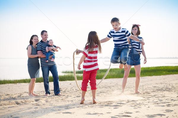 Summer family vacation Stock photo © dashapetrenko