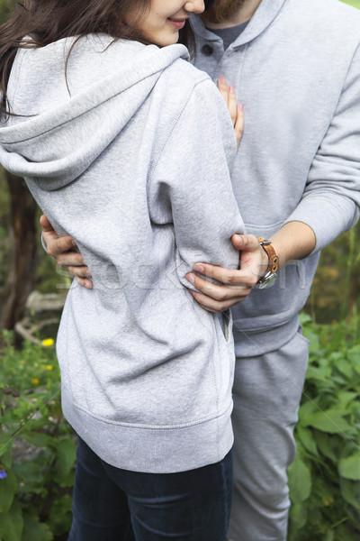 Stock photo: Loving couple outdoor