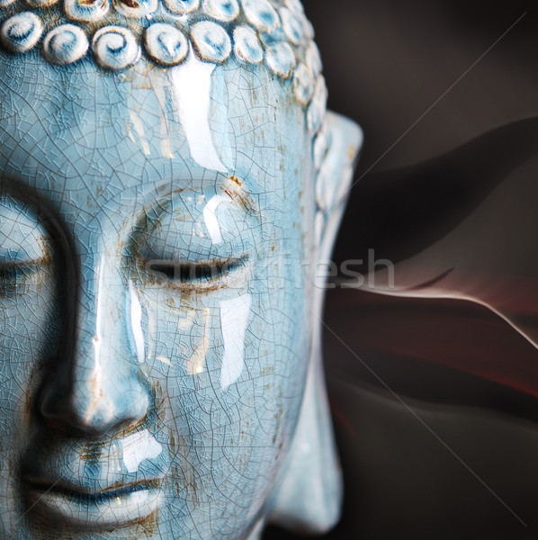 Buddha close up portrait  Stock photo © dashapetrenko
