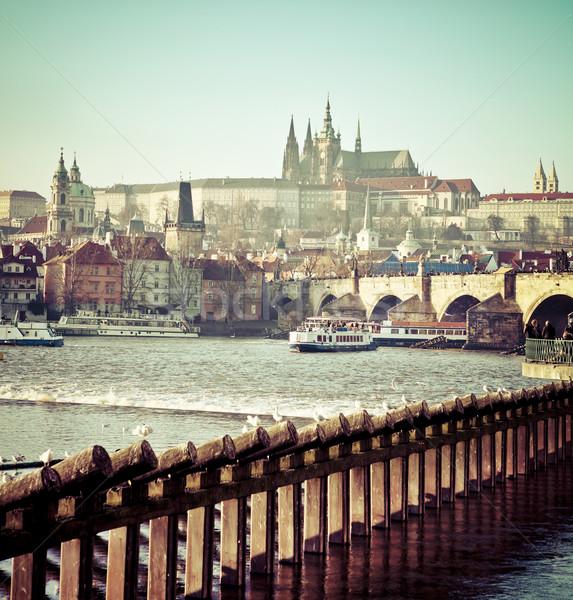 View of Prague Castle  Stock photo © dashapetrenko