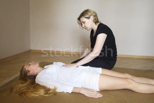 Masaje tratamiento salud centro cuerpo Foto stock © dashapetrenko