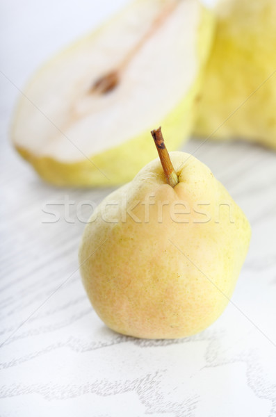 Pears on white Stock photo © dashapetrenko