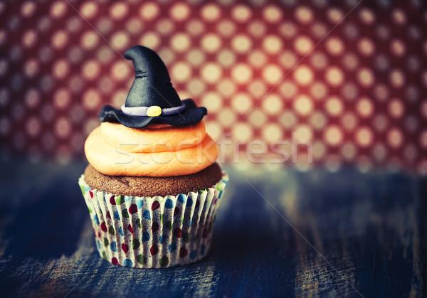 ストックフォト: ハロウィン · デザイン · 暗い · 自家製 · パーティ
