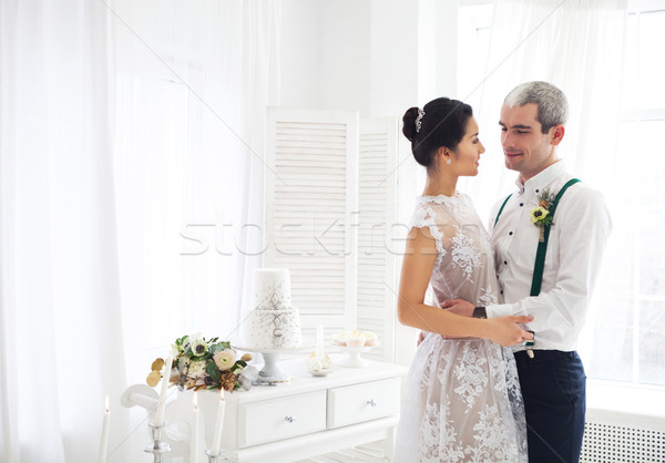 Cheerful married couple  Stock photo © dashapetrenko