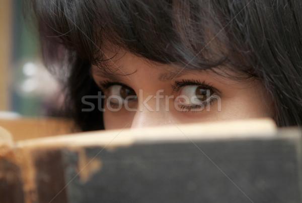 Reading the book Stock photo © dashapetrenko